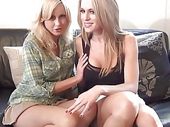 Jerk Off Instruction 04 - Two BabySitters meow