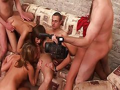 a teenage sexparty in russian way