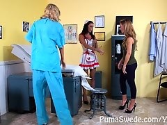 Dr DD!? Doctor Puma Swede and Nurse Jessica Jaymes with Nicole Aniston!