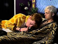 Gay twinks Jason and his redhead pal Cody are furry lovers w