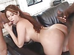 Tiffany Mynx Interracial DP
