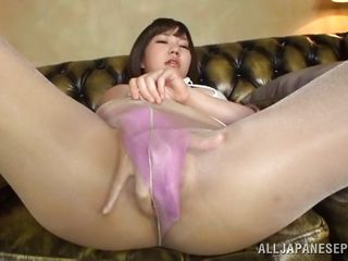 japanese milf masturbates for you