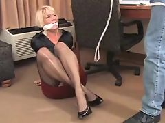 she was gagged in a closet