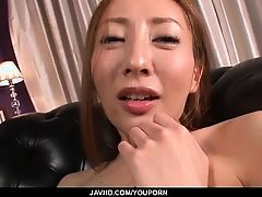 Erena Aihara loves touching herВ pussy in naughty ways
