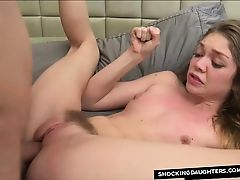 Vulnerable Step Sister Getting Rough Fucked