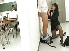 Natsumi kitahara rimming some dude part5
