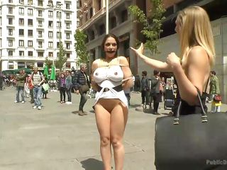 slutty marta gets humiliated in public