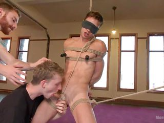 naive anthony gets tied up