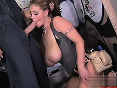 Young pornstar double anal