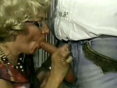 Mature chick loves a big hard cock