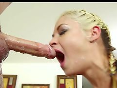Sloppy Deep Throat BJ Compilation TD