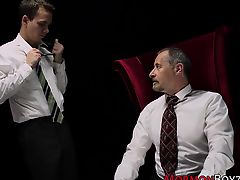 Mormon spanked and tugged