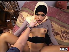 Arab picked up and fucked for cash