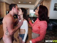 Stepmom Janet Mason frames Riley Reid for sex