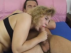 Nice blond mature hairy pussy