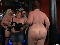 Fat group bbw party