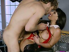 Vampire Mercedes Carrera Craves Big Cock And Jizz
