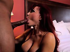Latin MILF Sucks Black Cock- Sexy Vanessa