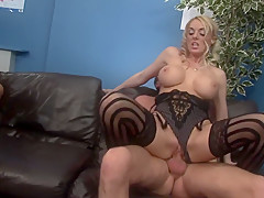 Horny pornstars Antonia Deona and Dani Amour in fabulous group sex, lingerie xxx clip