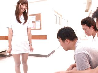 japanese nurse needs to see them cum hard