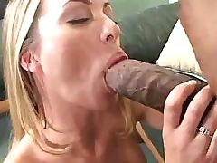 Hungry blonde called Aline squirts after a tremendous banging