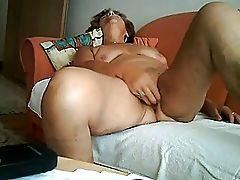 extrem horny german granny