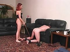 a lady and her slave