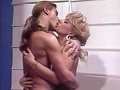 Vintage blonde slowly progressed from cock-sucking to fucking