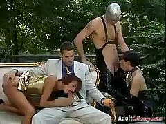 Outside sex for this group as then get pounded in the ass
