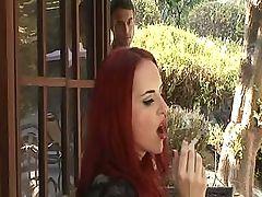 Busty Redhead Goddess