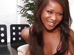 Ebony Babe Cali Sweet Cum Swallowing Cock Sucking