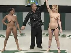 Ebony Versus Blonde Fight For The Championship