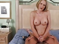 Horny couple get busy in the bedroom