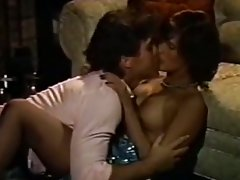 Horny couple fucking hard in this vintage porn