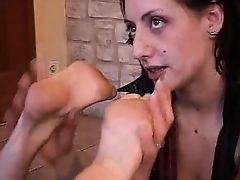 Tatiana & Dhelia Foot Fetish Part 6