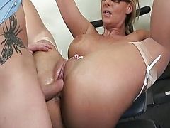 He wants to fuck her ass