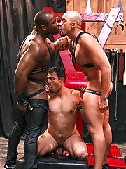 A.J.::Marc Williams::Jordano Santoro - in Gay Porn Photos