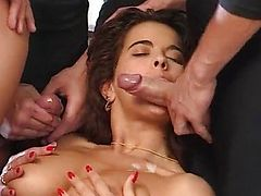 Angelica Bella-HouseWife gangbanged by Ripper
