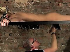 Sexy gay Draining A Slave Boys