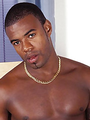 Cute Black Gay Wanking